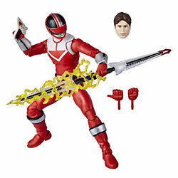 Power Rangers Lightning Collection Time Force Red Ranger 6 Inch Premium $19.99