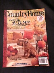 COUNTRY HOME MAGAZINE FALL 2020 $5.00