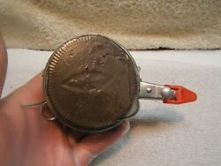 Vintage Perrine Automatic Fly Reel No. 50 with Line Made in USA BONUS $8.95