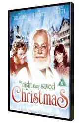 The Night They Saved Christmas 1984 TV Holiday Movie Art Carney Santa Claus $14.99