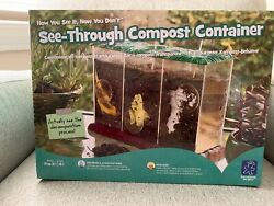 See Through Compost Container NEW Educational Insights Plastic Composting Bins $20.00