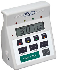 FMP Digital 4 Channel Commercial Kitchen Countdown Timer Water Resistant White