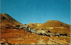 Vintage 1950#x27;s The Con Chollar Mill Mine Gold Hill Las Vegas Nevada NV Postcard $17.43