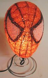 Night Light Spiderman Marvel Kids Bedroom Table Popcorn Lamp Spider Man Gift $15.99