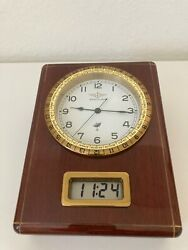 VERY RARE Breitling Vintage Desk clock Battery powered Radio Controlled $750.00