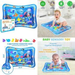 Bright One Tummy Time Water Play Mat Inflatable Play Mat for Infants 3 6 9 Mon $19.63