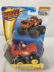 Nickelodeon Blaze And The Monster Machines BLAZE amp; AJ Die Cast Toy Vehicle $12.75