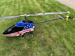 RC Helicopter MIniature AircraftXcell Fury Extreme 700 FBL YS91 Rotor Blades $500.00