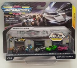 🔥SERIES 2 MICRO MACHINES 2020 SERVICE STATION GARAGE ICONS 5 Pack Cars #06 $22.99