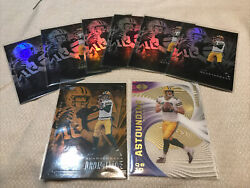 2020 Panini Illusions Football Jordan Love Orange RC And 6 Base RC Astounding $7.99