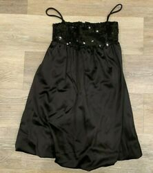 Designer Girls size 10 Hollyworld Black Dress