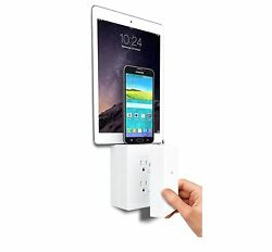 P3 International ThingCharger Charging Station Phone Charger Wireless Outlet USB $13.99