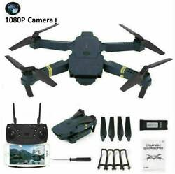 Cooligg FPV Wifi Dual HD Camera RC Selfie Drone Foldable Quadcopter 4K 1080P Toy $49.59