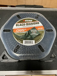 New Echo Black Diamond .095quot; 1Lb 253#x27; Commercial String Trimmer Line 330095071
