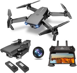 NEHEME NH525 Foldable Drones with 720P HD Camera for Adults RC Quadcopter WiFi $69.99