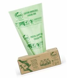 Certified 100% Compostable Bags 3 Gallon100 Count Extra Thick Waste Compost $17.99