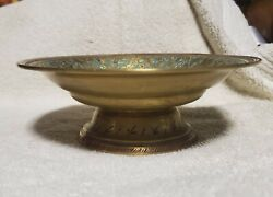 Small vintage Brass Bowl 5quot; across x 1 3 4quot; tall $12.00
