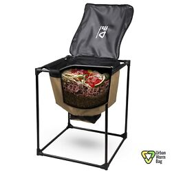 Urban Worm Bag Version 2 Fabric Worm Composting Bin Full Unit with Frame $129.00