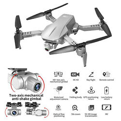 L106 Pro GPS Drone 4K 5G WIFI RC Quadcopter With Camera Optical Flow FPV Drone $120.89