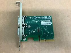 Magma 01 04962 03 PCIe to PCI HIF Expansion Chassis Interface Host Card Mac PC $159.99