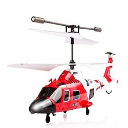 Coast Guard Rescue Helicopter RC Flight Infrared 3CH Gyro Marine S111g $41.03