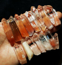120.5G 14pcs Natural red crystal clear Brazil cluster d696 $34.99