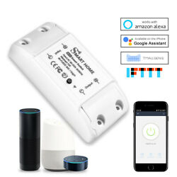 Smart WiFi Wireless Lighting Timers Home Switch Module for Alexa Google Control