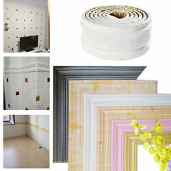 7.5ft 3D Wall Paper Borders Waterproof Self adhesive Wall Sticker Home Decor USA $6.28