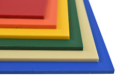 King ColorBoard HDPE Plastic Sheet Various Sizes Colors and Thicknesses $20.27
