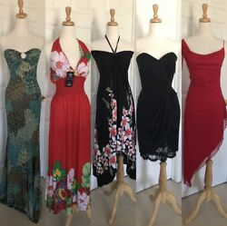 ** Lot Of 9 Womens Misses Dresses Skirt Trendy Maxi Small Medium ** $75.00
