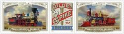 Transcontinental Railroad Sheet of 18 USPS Stamps American Golden Spike Train $22.00