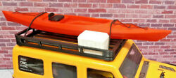 Kayak and Cooler with Roof Rack RED 1 24 scale SCX24 3d printed RC prop USA $24.95