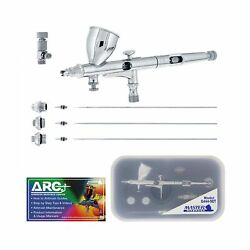 Master Airbrush G444 SET High Precision Detail Control Dual Action Gravity Fe... $48.99