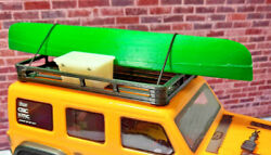 Canoe and Cooler with Roof Rack 1 24 scale SCX24 3d printed RC prop USA $24.95