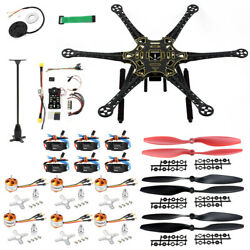 QWinOut S550 DIY Drone Kit Unassembly PNF 6 Axle Aircraft AirFrame with PIX4 ESC $200.27