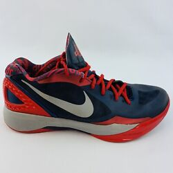 Nike Zoom HyperDunk Low PE Deron Williams Size 12 Mens Shoe Blue Red 487637 402 $48.95