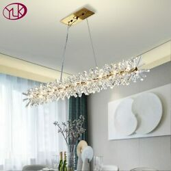 Luxury Modern Chandelier Lighting For Dining Room New Arrival LED Crystal Lamps $369.00