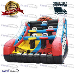 16x13ft Inflatable Basketball Hoop Carnival Sport Game Play With Air Blower $2590.00