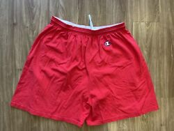 Vintage Champion Shorts Size 3XL Red $20.00