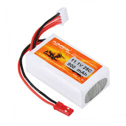 FLOUREON 3S 11.1V 800mAh 25C Li Polymer Battery for RC Airplane RC Helicopter RC $11.99