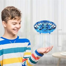 LANDZO UFO Drone Kids Toys Fly Helicopter Infraed Hand Sensing Induction RC $20.88