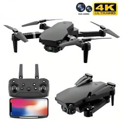 4K HD Dual Camera Foldable Height Keeping Drone WiFi FPV S70 1080p RC Quadcopter $65.94