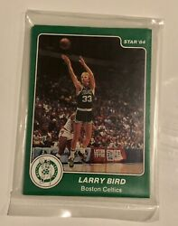 1984 Boston Celtics Star set Team Bag Sealed Larry Bird. Star Rookie $1000.00