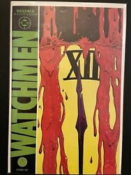 Watchmen 12 of 12 High Grade DC Comic Book D3 122 $17.99