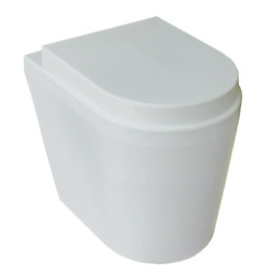 Gtg Portable Electric Waterless Toilet White Elongated Seat Vented Composting $706.74