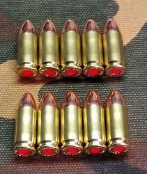 9MM SNAP CAPS SET OF 10 BRASSFMJ REAL WEIGHT $12.00