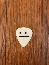 Paramore Stage Used Guitar Pick White Black : Face $14.99