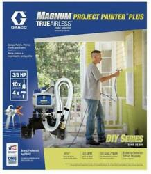 NEW GRACO 257025 MAGNUM PROJECT PAINTER PLUS TRUE AIRLESS PAINT SPRAYER NEW $214.95