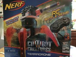 Nerf Combat Creatures Terradrone RC Battle Drone New Sealed Box $180.00