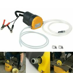 Electric Oil Pump Suction Transfer Change Pump 12V Motor Oil Diesel Extractor US $28.99